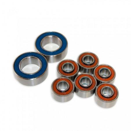 Black bearing B5 - roulement de jeu de direction 30.15 x 41.8 x 6.5 mm 45/45°