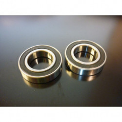 BLACK BEARING B5 Inox roulement 61801-2RS / 6801-2RS